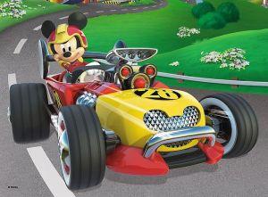 TREFL 20 dílků mini-MAXI - Mickey Mouse - závodníci   21024
