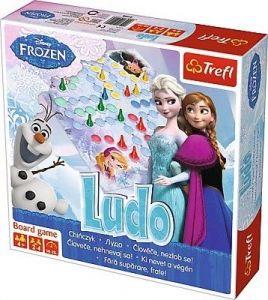 Trefl  hra - Člověče nezlob se -  Ledové království - Frozen  01205