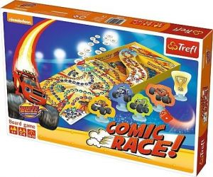 Trefl hra - Comic Race - Blaze & Monster Machines  01480