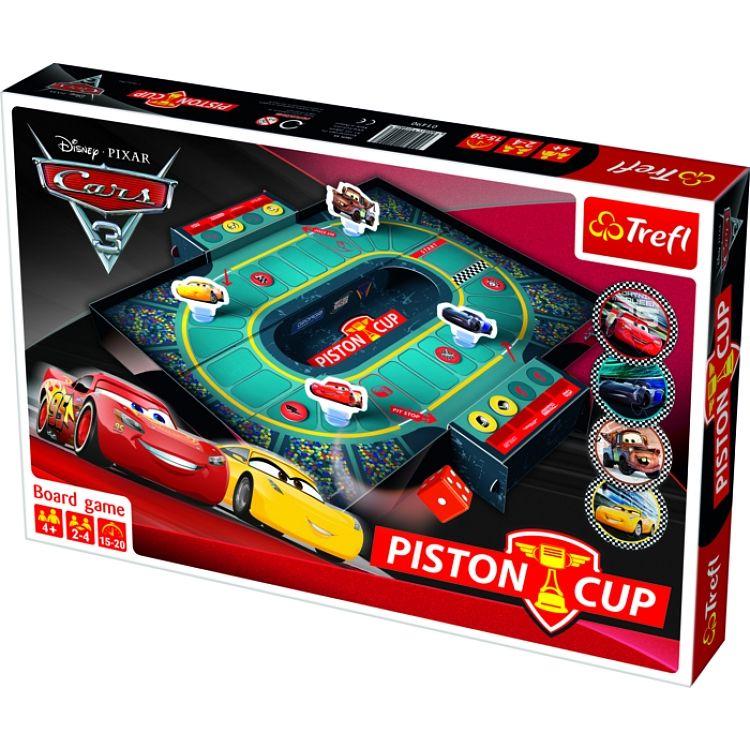 Trefl hra - Piston Cup - CARS - AUTA 3