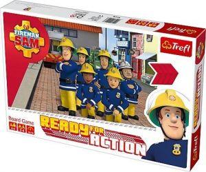 Trefl hra -  Požárník Sam -  Připraven do akce !  01416
