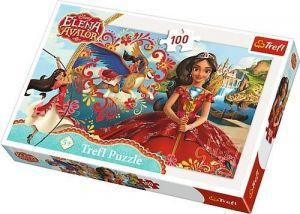 Trefl Puzzle 100 dílků - Elena z Avaloru - magie Avaloru  16321
