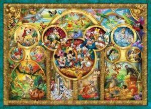 1000 dílků  Nejhezčí motívy - Disney -   puzzle Ravensburger