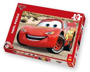24 MAXI dílků  -  CARS Mc.Queen  - puzzle Trefl