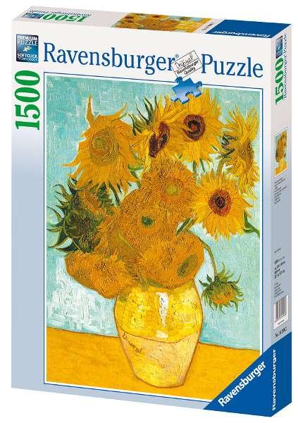 1500 dílků Vincent Van Gogh - Slunečnice - puzzle Ravensburger 162062