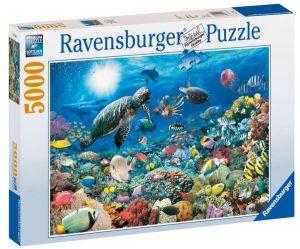5000 dílků  Hlubina oceánu -   puzzle Ravensburger