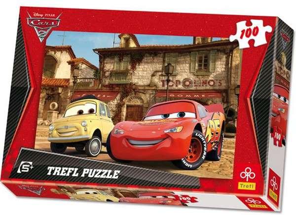 100 dílků - CARS - puzzle Trefl 16160