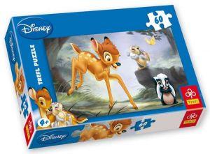 60 dílků - Bambi   -  puzzle   Trefl