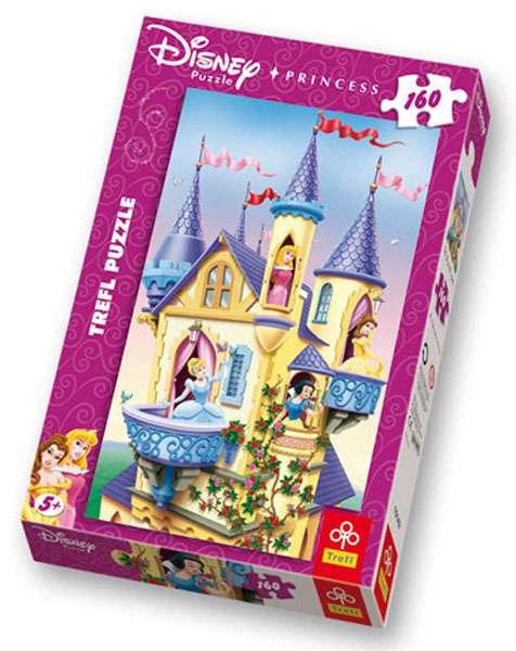 160 dílků - Palác princezen - puzzle Trefl 15142