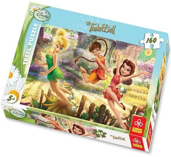 160 dílků - Víly - puzzle Trefl 15202