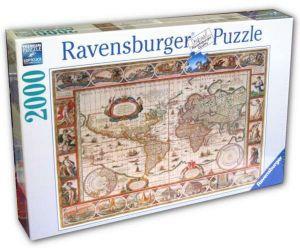 2000 dílků Mapa světa -   puzzle Ravensburger