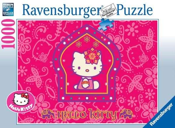 1000 dílků Hello Kitty - princezna - puzzle Ravensburger 191956