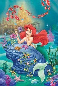 260 dílků - Malá mořská víla -  puzzle   Trefl
