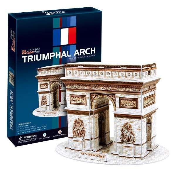 3 D Puzzle CubicFun - Vítězný oblouk - Paříž 26 d. Cubic Fun