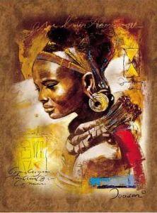 1000 dílků  Africká kráska  -   puzzle Ravensburger 153527