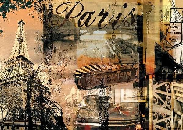 1000 dílků nostalgická Paříž - puzzle Ravensburger 157297