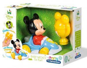 Clementoni Baby - Autíčko Go Kart  - Mickey 17093