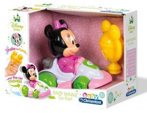 Clementoni Baby - Autíčko Go Kart  - Minnie 17124