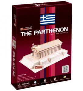 CubicFun 3D puzzle - Partenon 24 dílků  - 20076