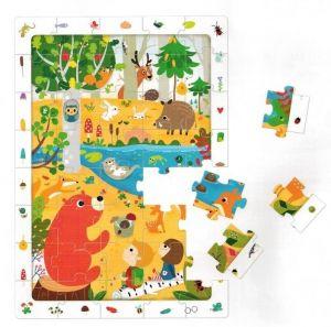 CzuCzu Puzzle  Les  40 dílků