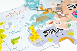 CzuCzu Puzzle Mapa 35 dílků