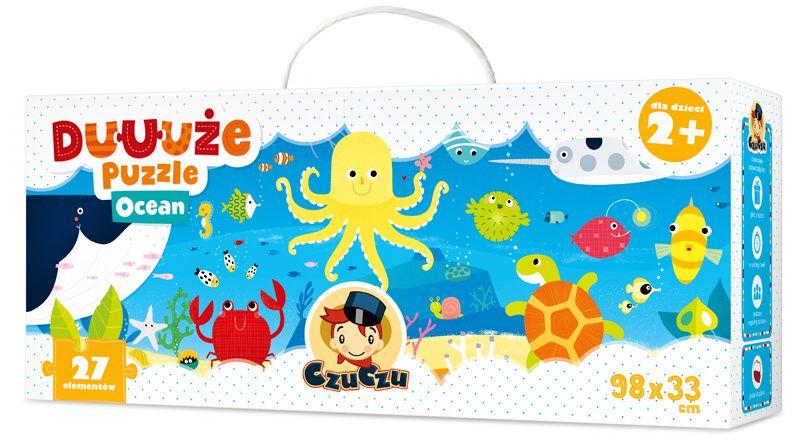 CzuCzu Puzzle Oceán 27 dílků
