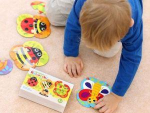 CzuCzu Puzzle - skládám broučky 5 x 4 dílky
