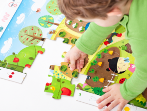 CzuCzu Puzzle Zahrada 40 dílků