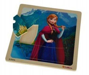 Eichhorn - dřevěné puzzle  Frozen 7 dílků - Anna