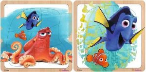 Eichhorn - dřevěné puzzle Hledá se Dory 7 dílků - Hank a Dory Eichhorn - Simba