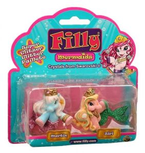 Filly Mermaid - sada 2 figurek - Martin + Ziri