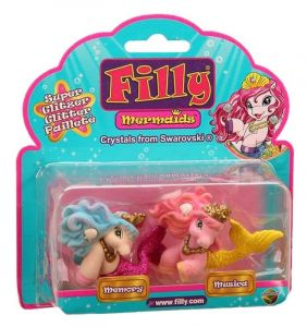 Filly Mermaid - sada 2 figurek - Memory + Musica