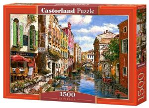 Puzzle Castorland  1500 dílků - Restaurace La Pergola Benátky  151578