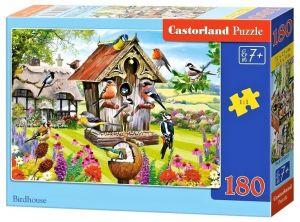 Puzzle Castorland 180 dílků - Ptačí budka   018307