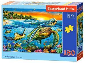 Puzzle Castorland 180 dílků - Želvy   018321