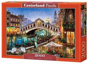 Puzzle Castorland 2000 dílků  Grand Canal Bistro - Benátky   200689