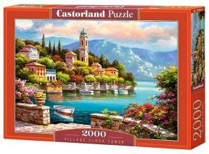 Puzzle Castorland 2000 dílků  vesnická radniční věž   200696