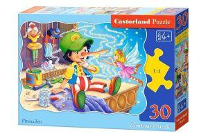 puzzle Castorland  30 dílků  - Pinocchio  03662