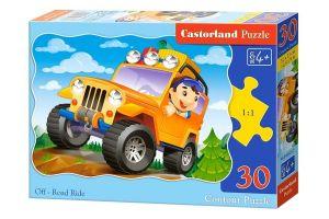 puzzle Castorland  30 dílků  - terénní auto   03631