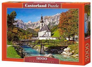 Puzzle Castorland 3000 dílků  - Ramsau - Německo  300464
