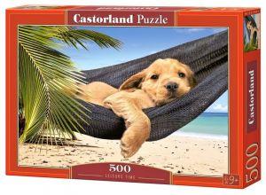 Puzzle Castorland 500 dílků - psí pohoda 52554