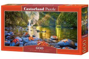 Puzzle Castorland 600 dílků panorama  - Mlžná rána  060191