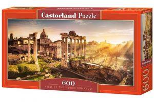 Puzzle Castorland 600 dílků panorama  - pohled na Forum Romanum  060269