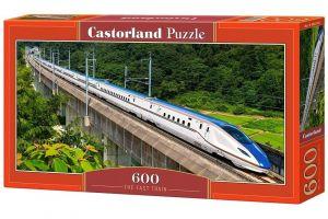 Puzzle Castorland 600 dílků panorama  - Rychlovlak   060146