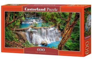 Puzzle Castorland 600 dílků panorama  - Vodopády   060160