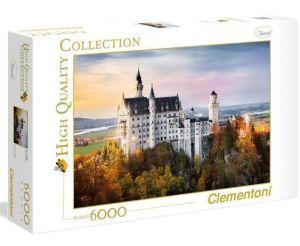 Puzzle Clementoni 6000 dílků - Neuschwanstein  36522