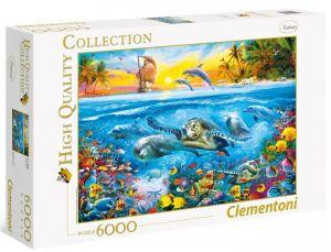 Puzzle Clementoni 6000 dílků - Podvodní svět  36523