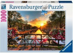 Puzzle Ravensburger 1000 dílků - Kola v Amsterdamu   196067