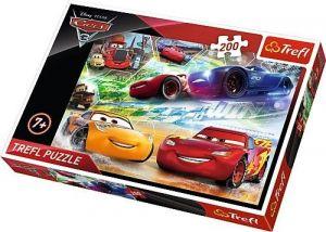 TREFL Puzzle  200 dílků - CARS - Auta  3 13232