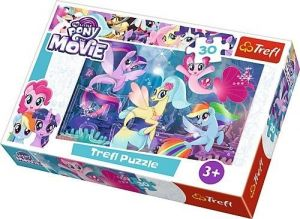 Trefl puzzle  30 dílků  - My Little Pony the Movie - připoj se k zábavě   - 18216